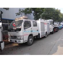 Caminhão de combate a incêndio de alta pulverização / resgate de incêndio