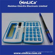 Calculatrice de poche pliable mini taille