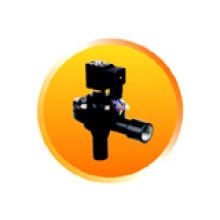 Válvula de chorro de pulso de cuerpo de aluminio con color negro (RMF-Z-20A)
