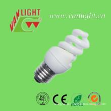 T2 compact complète spirale 8W CFL, lumière d'économie d'énergie