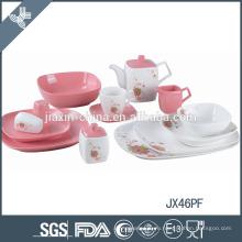 Конкурентоспособные цены набор посуды фарфоровых экологически чистых наборов посуды свадьбы