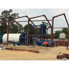 medio ambiente y seguridad 100% plástico de desecho para refinar fuel oil máquina usada neumáticos cambiadores refinería de petróleo crudo usado en