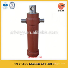 single action telescopic hydraulic cylinder for tipping truck