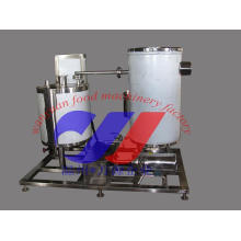 Bebidas de jugo de frutas Uht máquina de esterilización instantánea