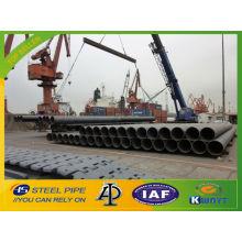Transporte de gas y petróleo tubería de acero / SSAW