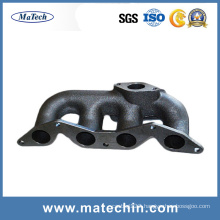 Customized Ggg50 Ductile Cast Iron Exhaust Manifold by China Foundry