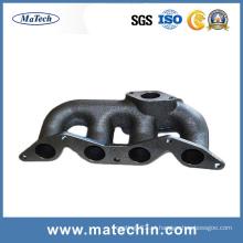 Distribuidor de exaustão Ductile personalizado do ferro fundido Ggg50 pela fundição de China