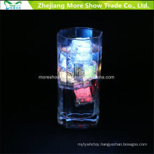 Wholesale Water Sensor Flashing LED Ice Cubes Glowing Drinkable Decoration for Event Party Wedding