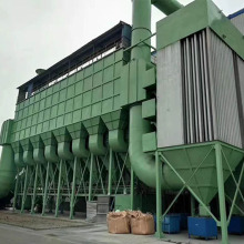Cement plant impulse type long bag filter