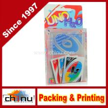 Plástico PVC Custom Impresso Cartas de Baralho (431001)