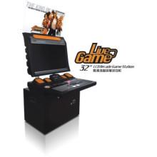 """Máquina de juego de la arcada, máquina de juego del casino (32 """"estación del juego)"""