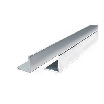 Perfil de ángulo de aluminio de la aleación de aluminio extruido 6061 6063