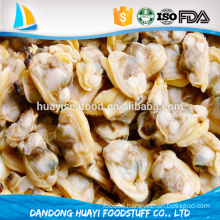 Chinese yellow sea high quality frozen boiled short necked clam no sand