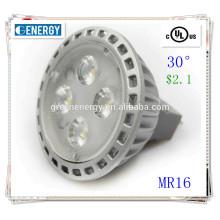 led lamp for home Ra>80 TUV UL approved 5w gu5.3 mr16 led spot light