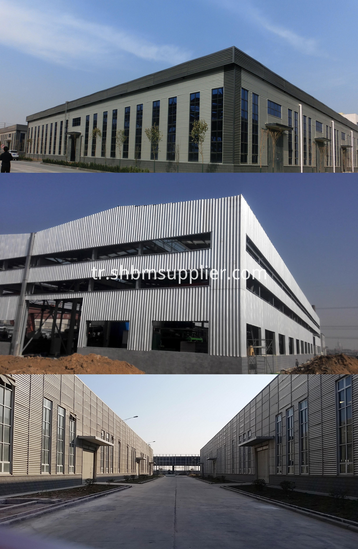 Glass-Fiber-Cloth Reinforced Aluminium Foil MgO Roof Tiles
