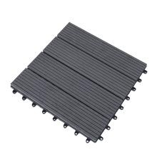 Wholesale Outdoor Deck Tile Easy Installation WPC Interlocking Flooring Tiles