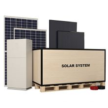Green Energy High Efficiency On Grid Solar Power Station 10Kw Pv Power System  Solar Home Solar Power System