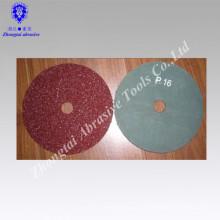 Polierscheibe aus Aluminiumoxid-Faserscheibe