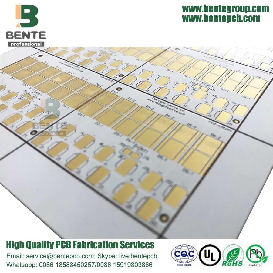 1 Layer Copper Base Matel PCB ENIG LED Lamp