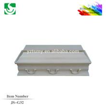 Usine de cercueil infantile de bonne qualité JS-G32