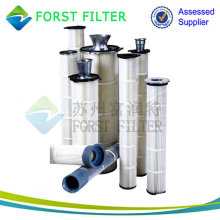 Filtro de aire industrial de alta temperatura Forst de alta densidad