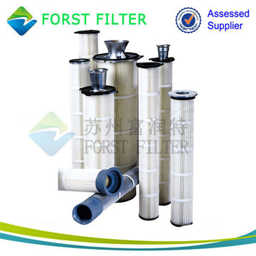 Forst High Temperature Industrial Air Pleated Cartridge Filter
