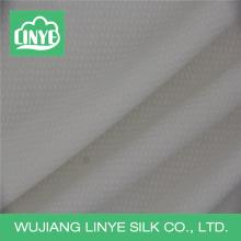 Tissu anti-bactérien, tissu d'ameublement de mariage blanc