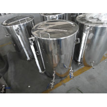 75 Gallon Brew Kettle with Tangential Inlet and Sight Glass