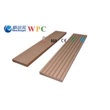 Tablero compuesto plástico de madera de 63X10m m WPC Tablas decorativas que bordean perfil
