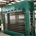 Mesin Press Hot Plywood Laminating