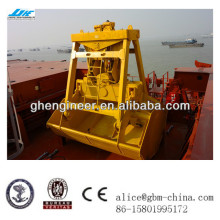 25T radio remote control grab bucket for ship crane with classification society certification