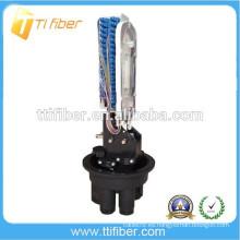 Cierre de empalme de fibra óptica 24-144Come Dome
