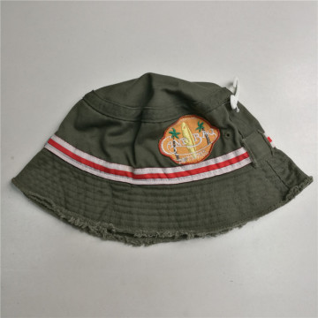 Boys Vintage Washed Cotton Bucket Hat