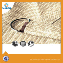 Triangle sun shade sail made in China supplied by sumao