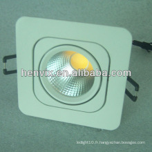 Dimmable COB LED Carré downlight led 5w