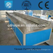 Máquina de fabricación de Perfil de WPC de PE