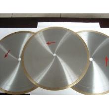 Sierra de borde de diamante para corte de vidrio y azulejos