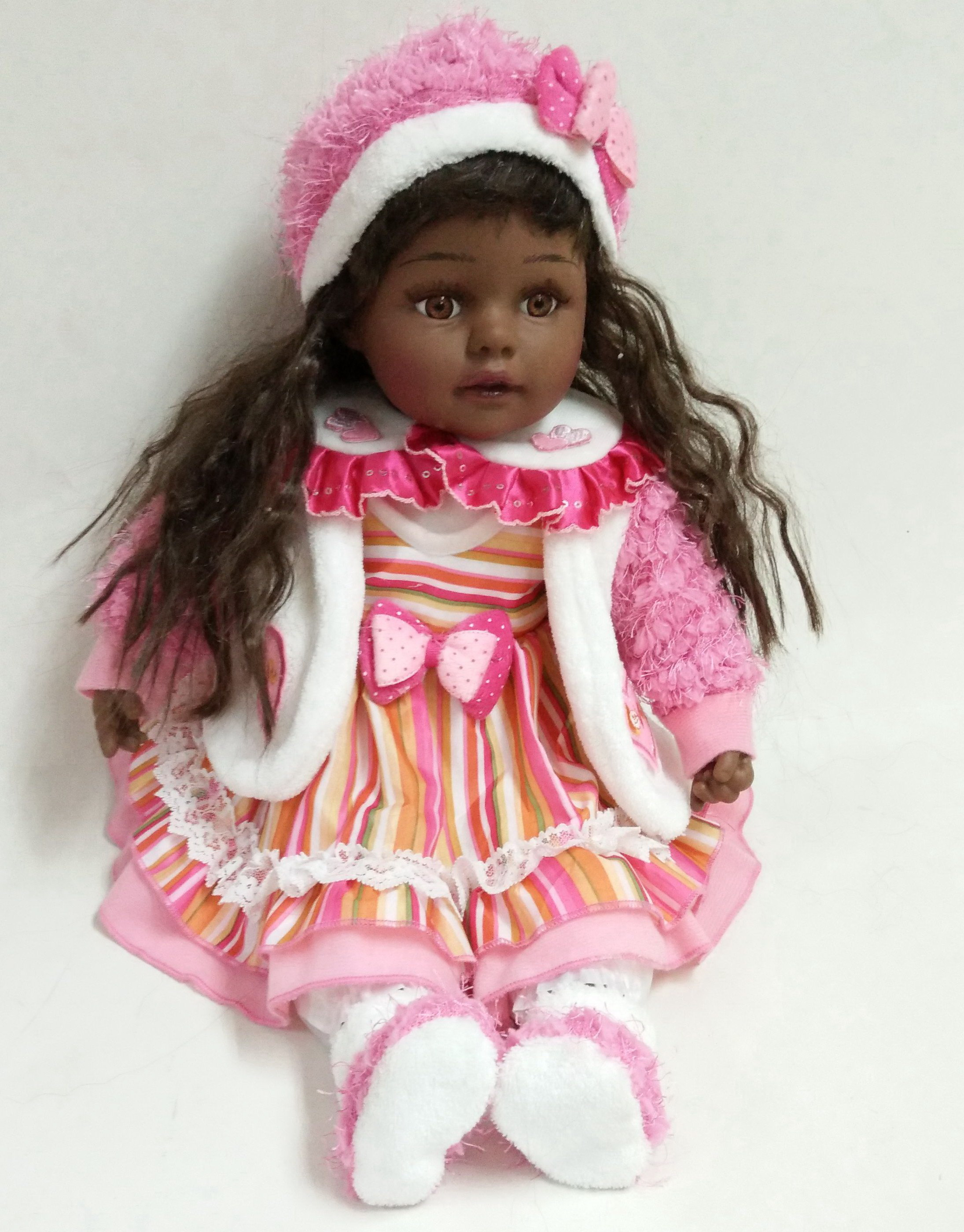 Cute black skin doll