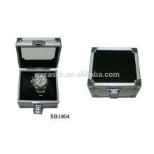 Estuche de aluminio profesional China de fabricantes de reloj solo