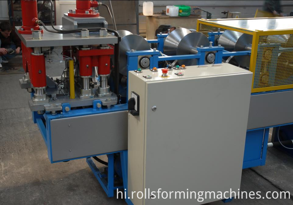 Rounded Ridge Cap Machine