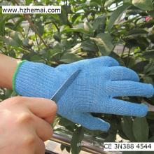 Blaue Küche schneiden resistent FDA Lebensmittelindustrie Handschuh