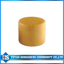 150ml Plastic Jar for Cream in Wooden Color