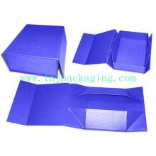 Caixa de presente dobrável de alta qualidade com fechamento do ímã