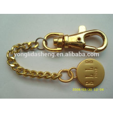 Atacado de ouro / prata / preto preço barato rodada feito personalizado feito metal logotipo metal