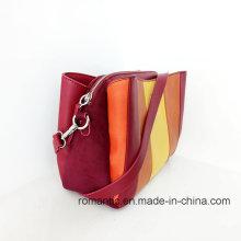 Bolso de compras de cuero de las mujeres de las señoras PU de las promociones (NMDK-040701)