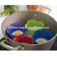 Nuevas vainas de cazador de huevo de silicona para cocinar