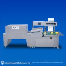 (KZ-400LB + KDZ-450B) L-Barra automática que sella y encoge la máquina de embalaje / envoltura del encogimiento