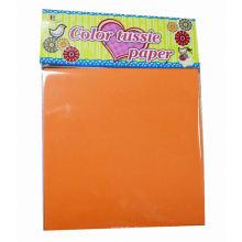 papelarias, papel de tecido cor