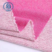 Вязаная махровая ткань из смеси хлопка и полиэстера с петлей сзади
