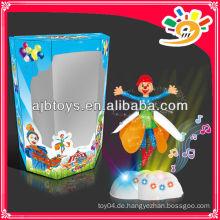 Lustige Clown Puppen Fliegen Clown Spielzeug Mit Licht Und Musik Zu Verkaufen